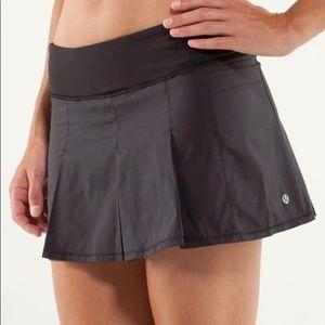 Lululemon  4 Fast Cat Pleated Running Skirt